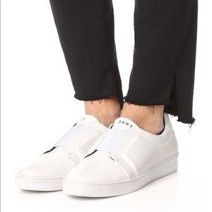 DKNY Bobbi Slip On Shoes, Off White